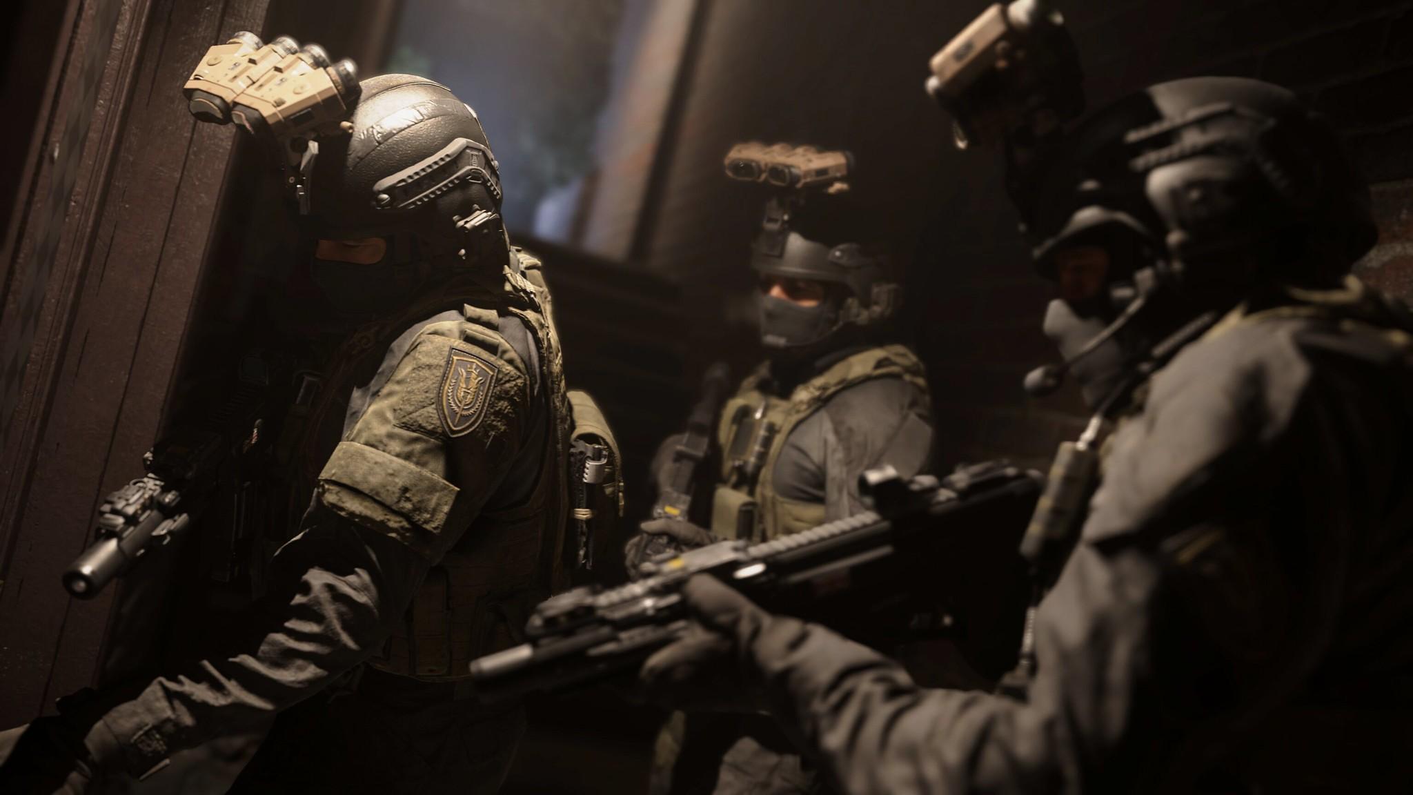 Кадр из игры Call of Duty: Modern Warfare