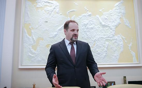 Министр природных ресурсов и экологии РФ Сергей Донской, 9 июня 2016 года