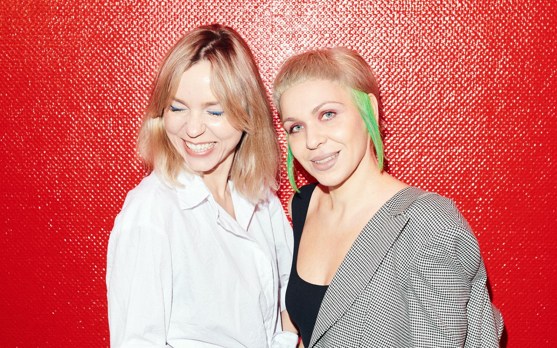 Партнеры студии DVEKATI Екатерина Любарская (слева) и Екатерина Сванидзе
