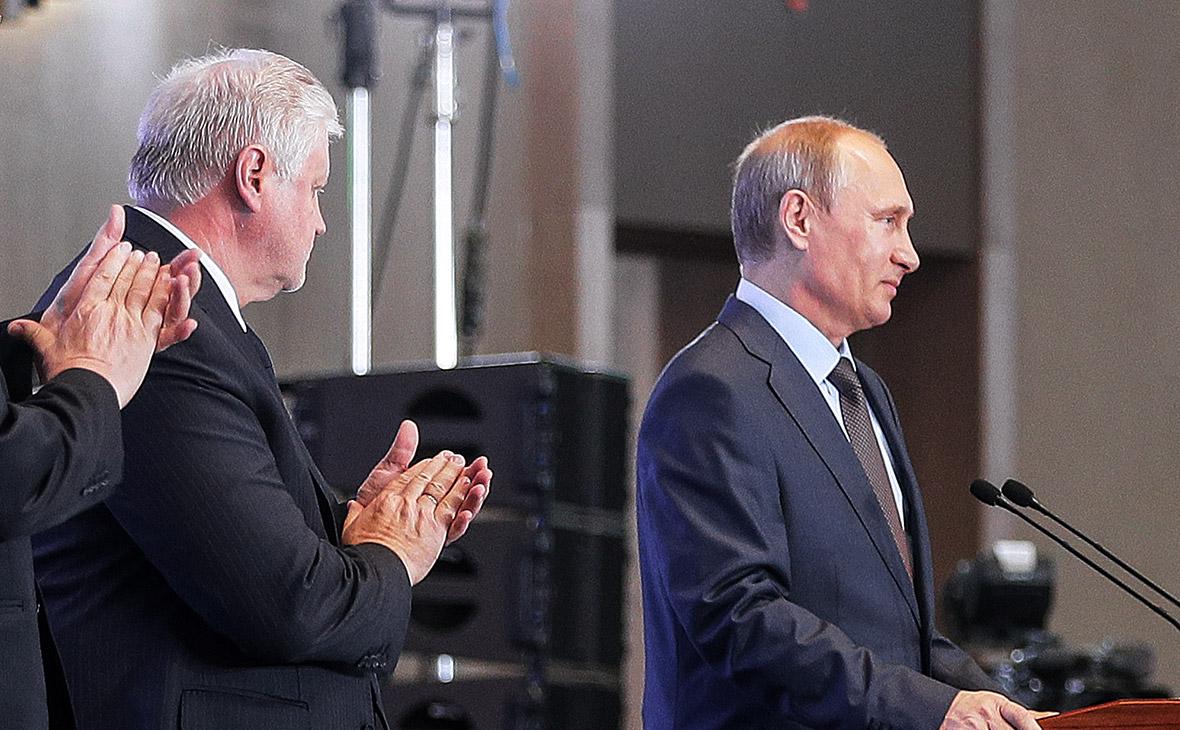 Владимир Путин иСергей Миронов