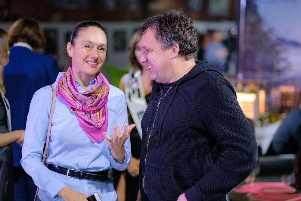 Фото:Наташа Изотова («Астория») и Игорь Водопьянов (УК «Теорема»)