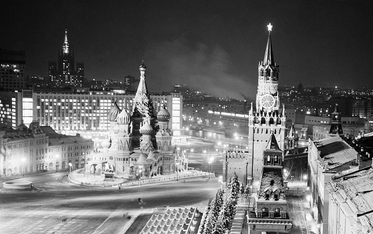Москва новогодняя. 1967 год
