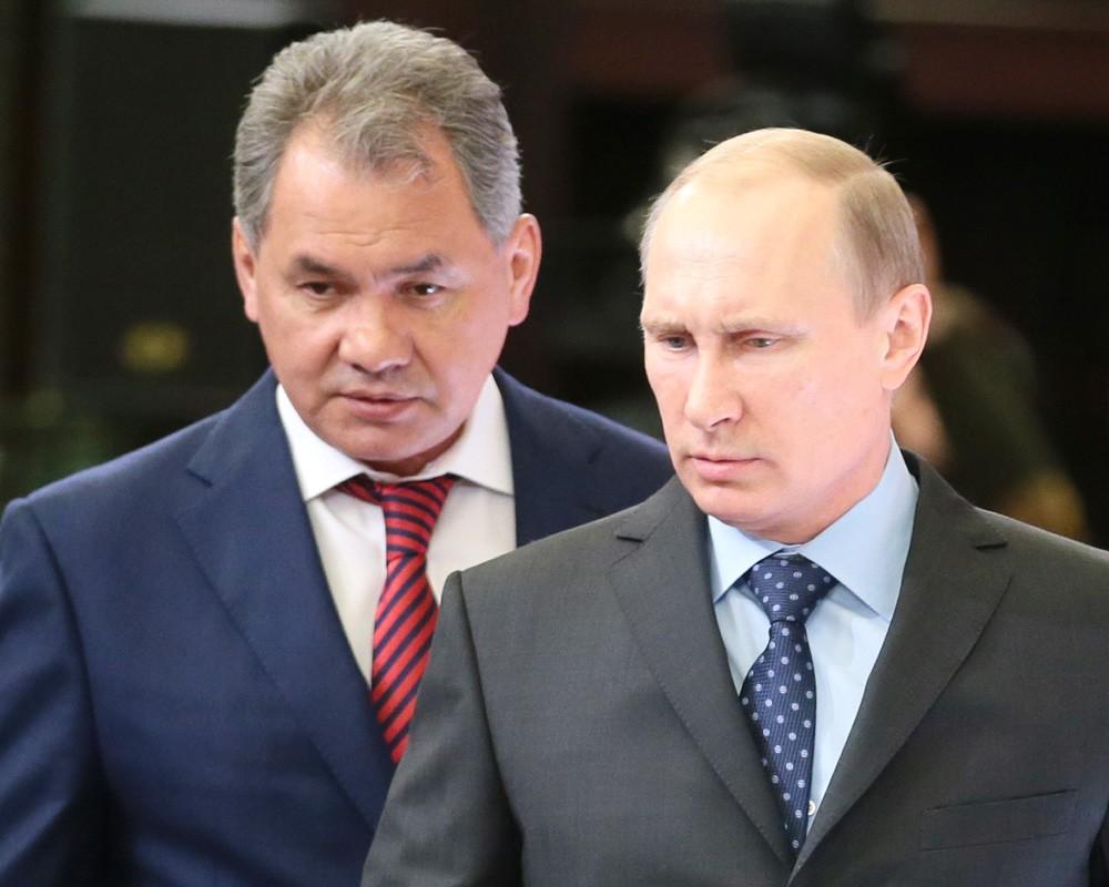 Владимир Путин и Сергей Шойгу на рыбалке и подводной охоте ...