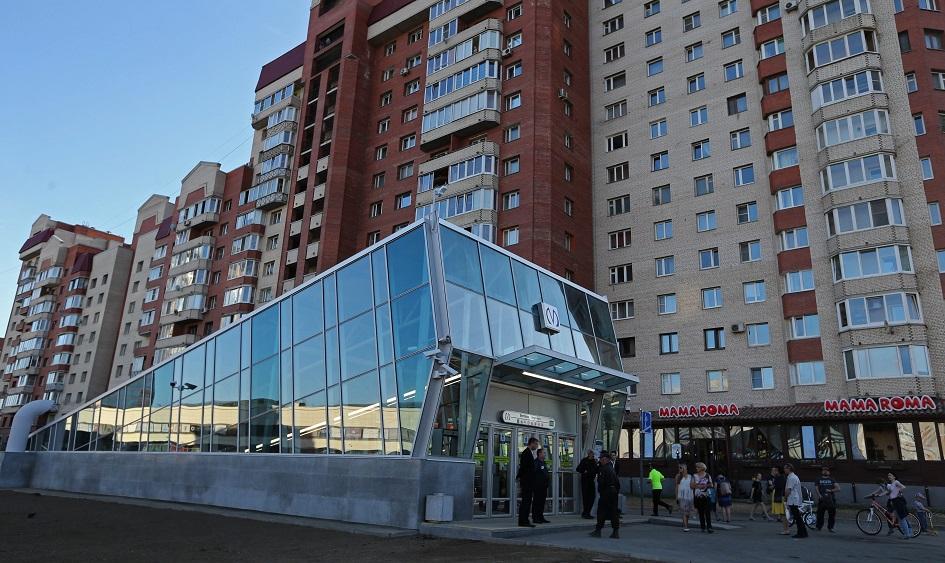 Жилье у метро в Петербурге