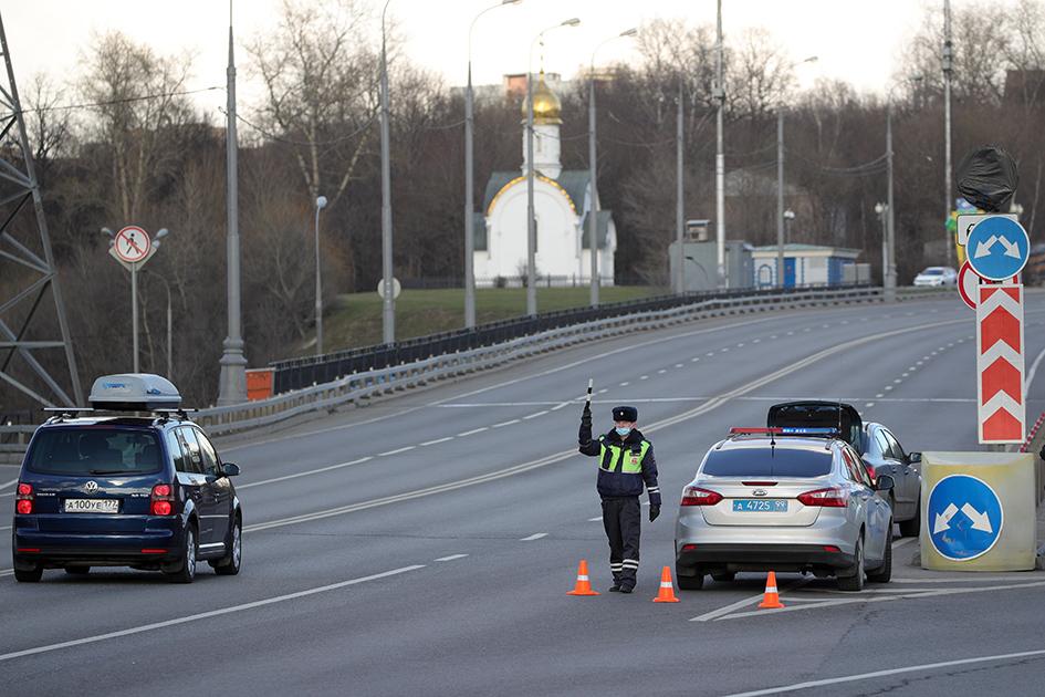 ГИБДД ограничила въезд в Москву автомобилей с региональными номерами
