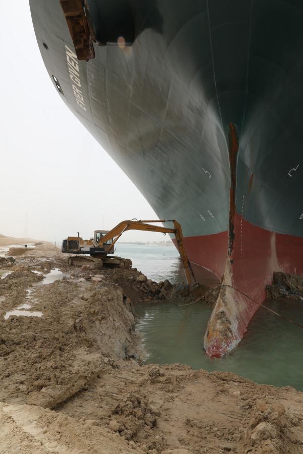 Фото:Управление Суэцкого канала (SCA)