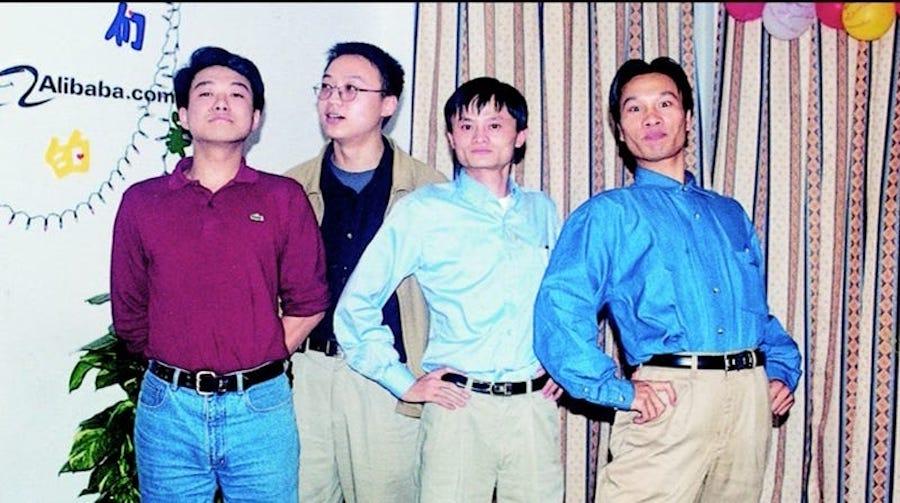 Джек Ма и его друзья-инвесторы Alibaba