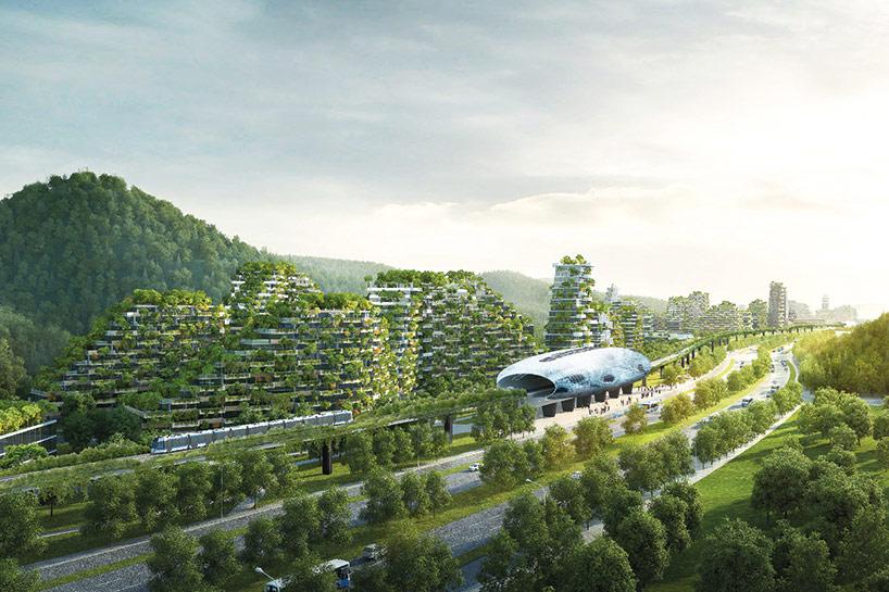 Под строительство «лесного города» отведена площадь в 175 га вдоль реки Лицзян. Город будет соединен с Лючжоу высокоскоростной железной дорогой