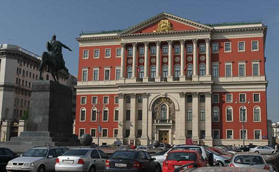 Москва, здание мэрии