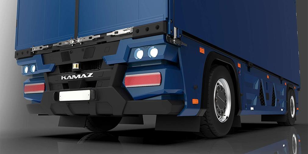 Беспилотный электрический грузовик «Челнок»