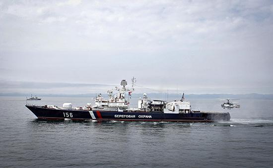 Сторожевой корабль береговой охраны службы ФСБ России. Архивное фото