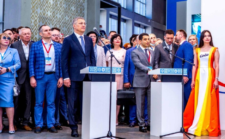 Радий Хабиров и Эдуард Давыдов запускают новое производство