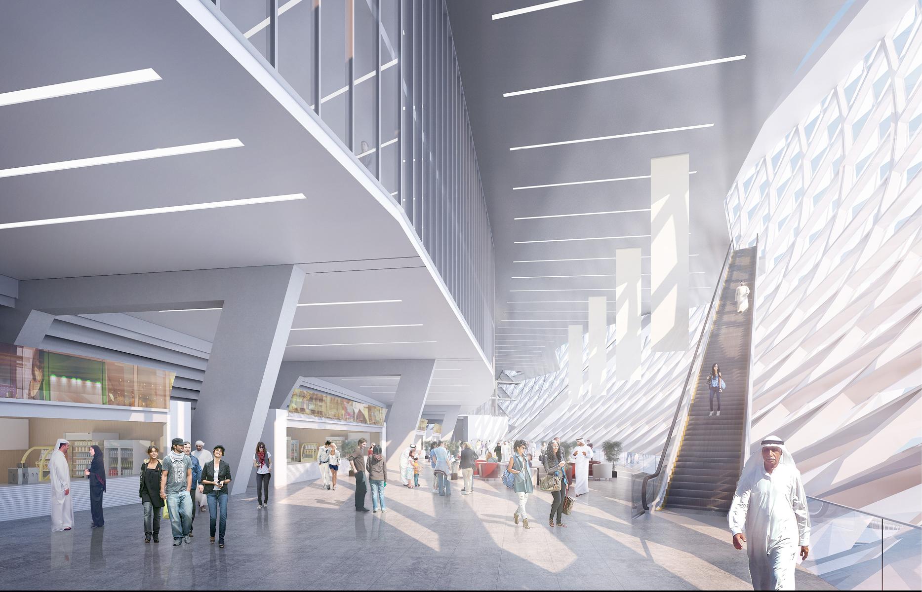 Частью спортивного кластера станет музей спортивной истории Дубая площадью 1,5 тыс. кв. м. Что будет экспонироваться в музее, не сообщается