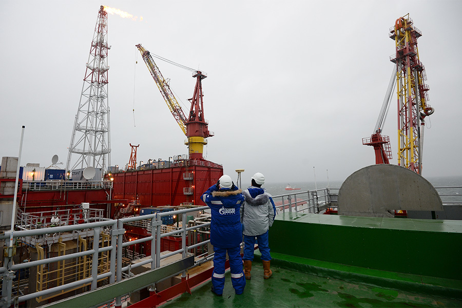 Приразломное месторождение «Газпром нефти»