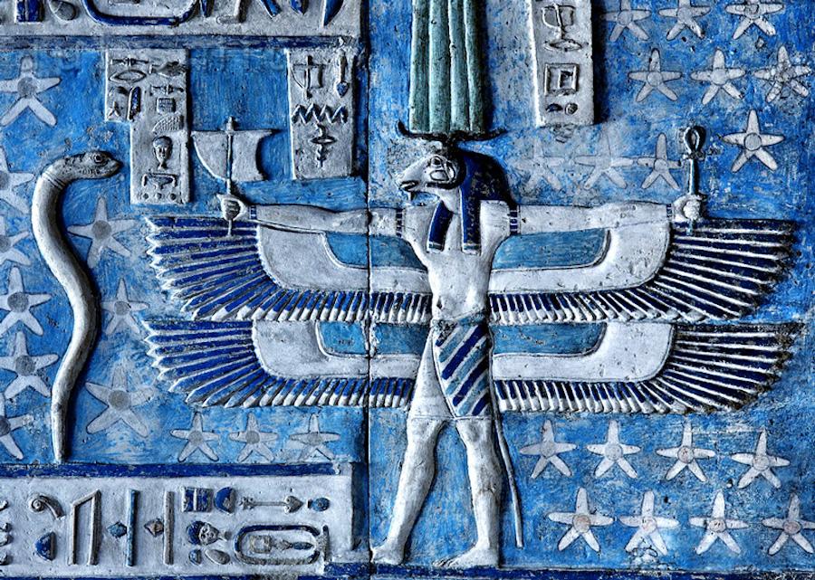 Египетский синий пигмент