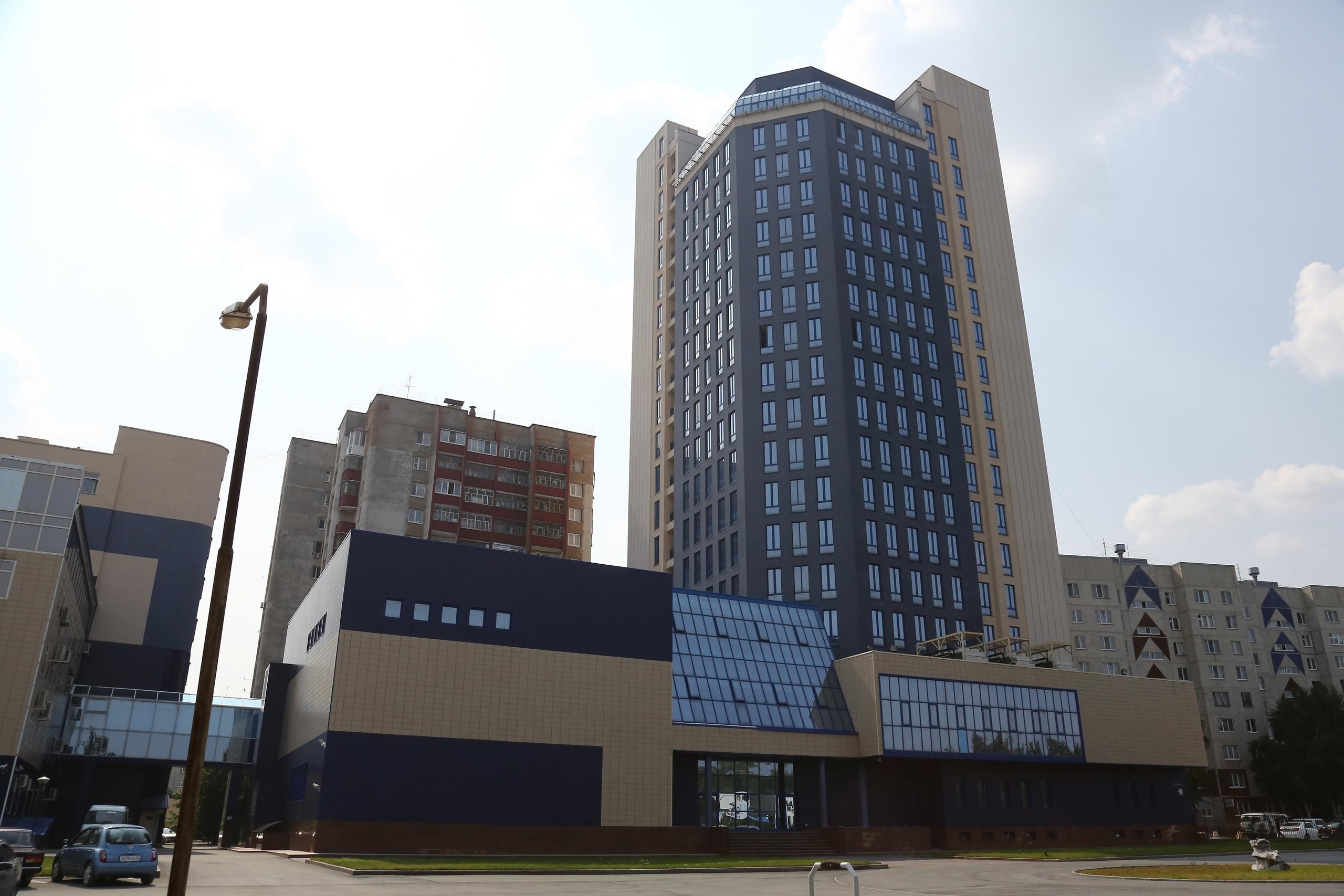 Здание Сибирского научно-аналитического центра