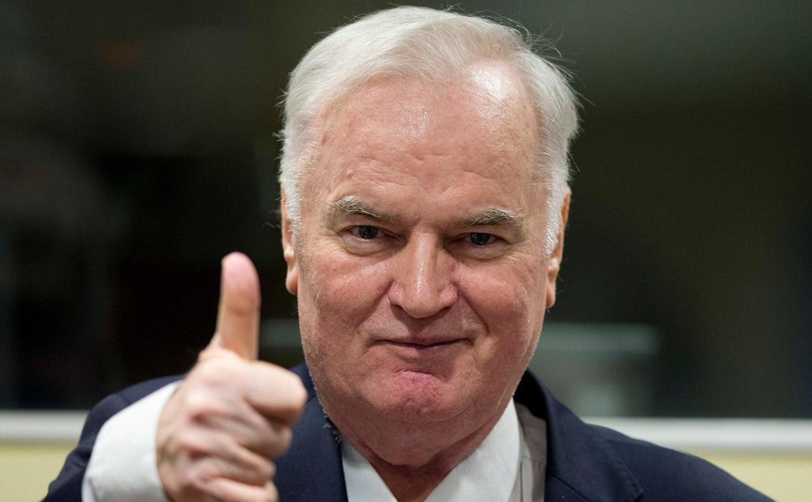 Ратко Младич. 22 ноября 2017 года