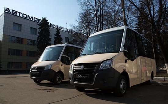 Автобусы «Газель»