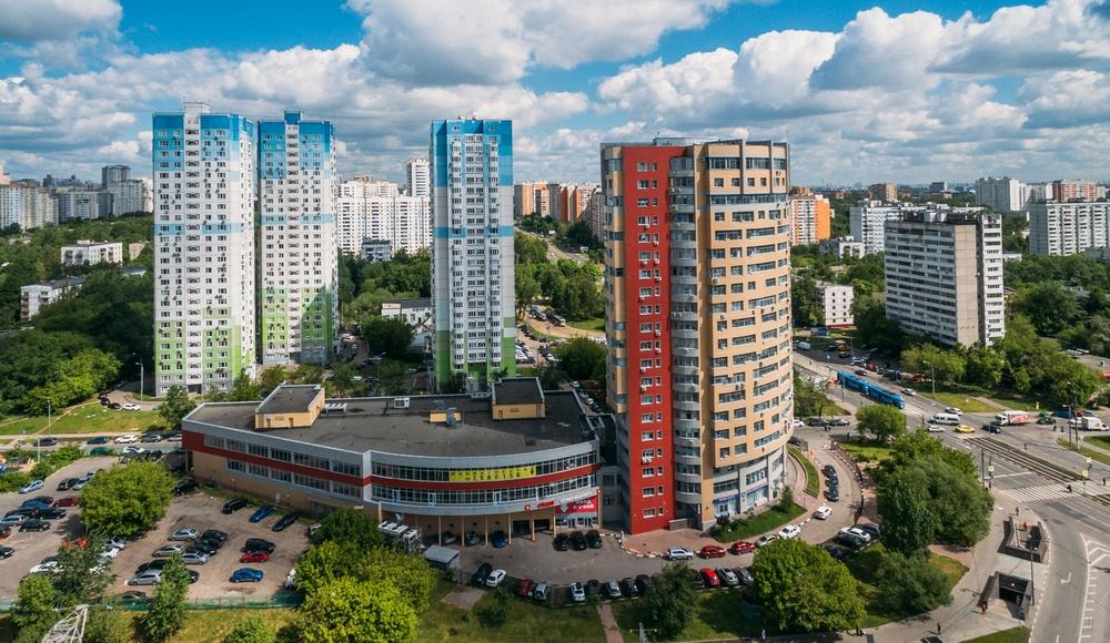 Новые дома на Балаклавском проспекте в Зюзине