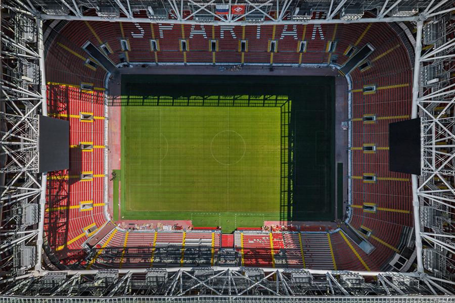 Стадион «Открытие Арена» в Москве