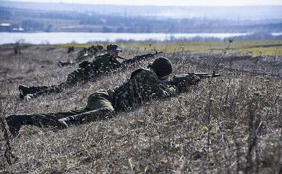 Плановые военные учения вооруженных сил ДНР