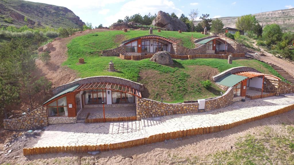 Дом хоббитов в Турции