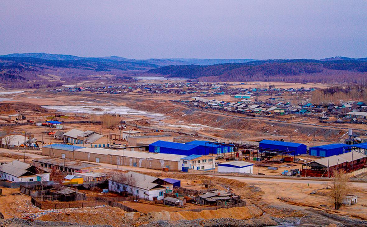 Вид на поселок Вершино-Дарасунский