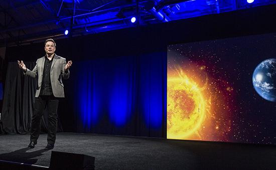 Глава компании SpaceX Илон Маск