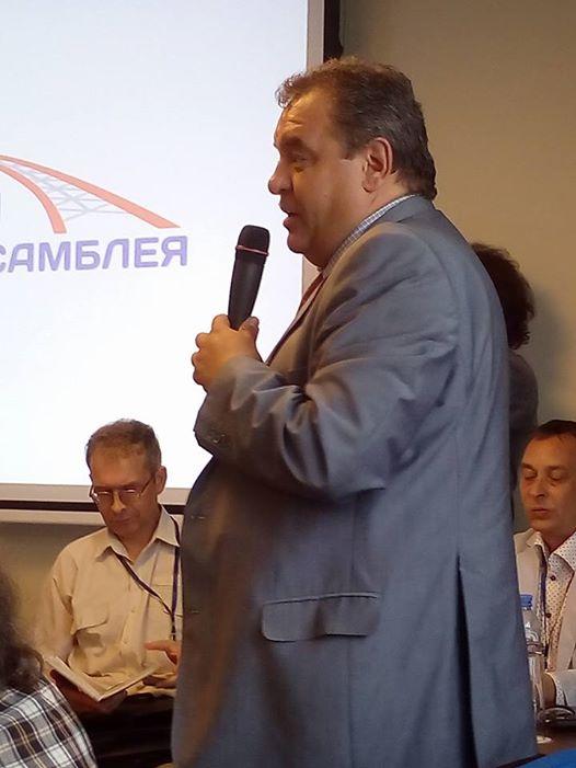 Зампредседателя Совета депутатов города Новосибирска Ренат Сулейманов