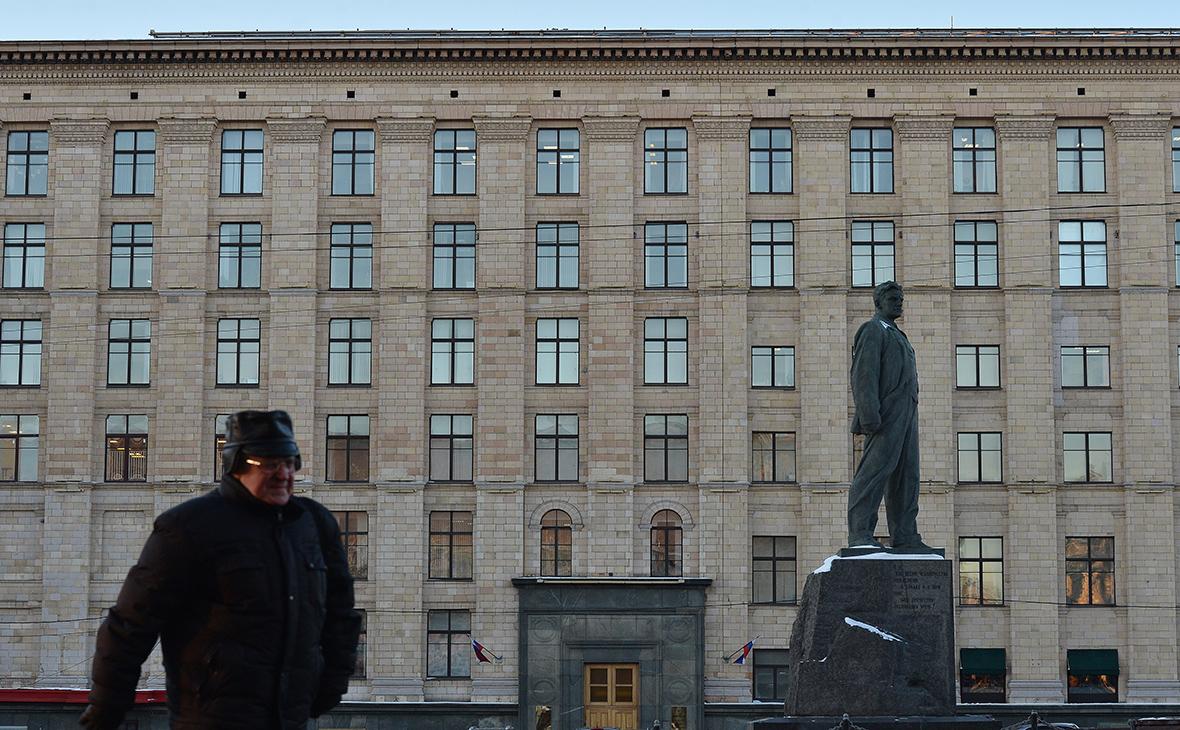 Здание Минэкономразвития на улице 1-й Тверской-Ямской