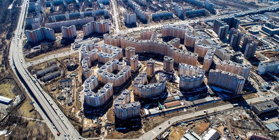 Недостроенный ЖК «Царицыно» в Москве