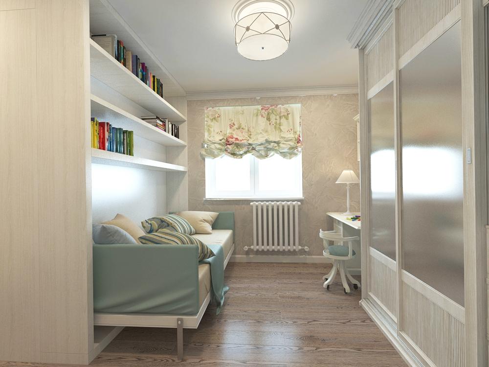Дизайн детской комнаты 14 метров