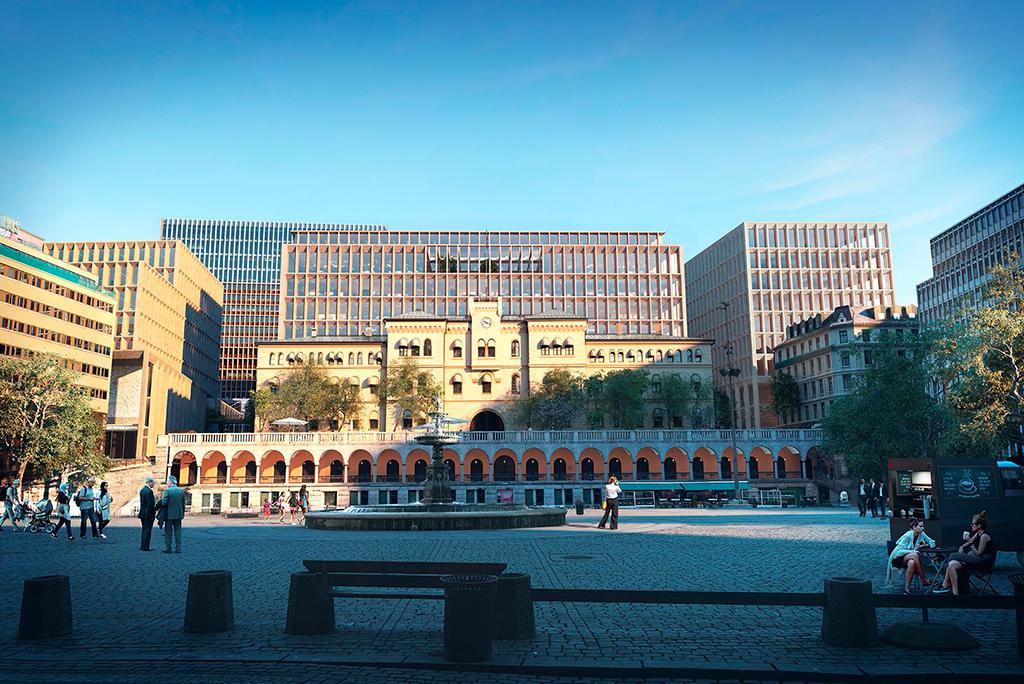 Здание правительства Норвегии