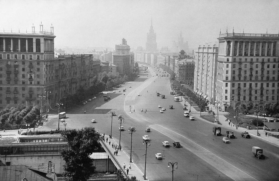 Кутузовский проспект. 1966 год