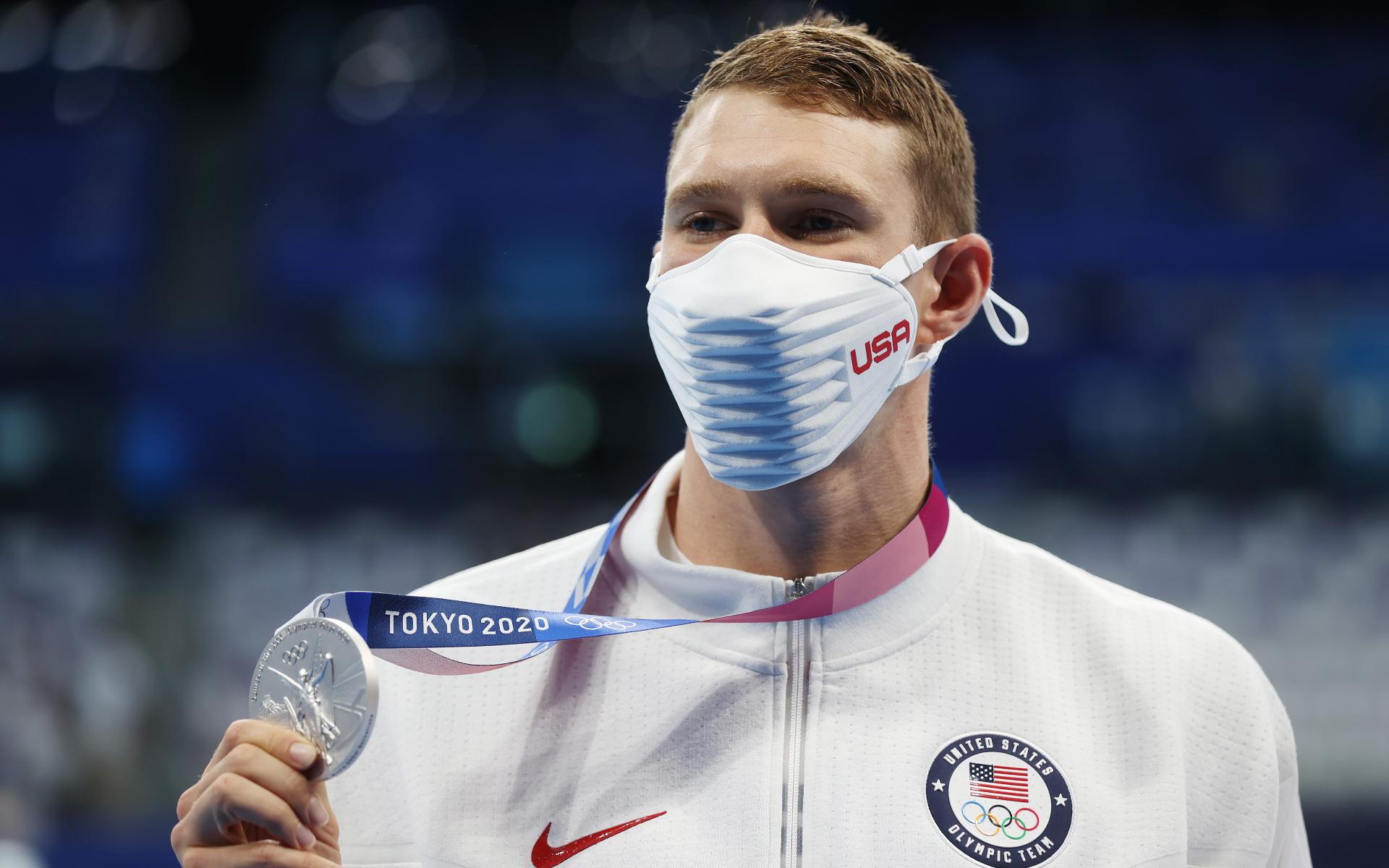 Американский пловец Райан Мерфи