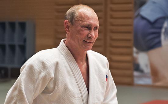 Президент России Владимир Путин, октябрь 2012 года