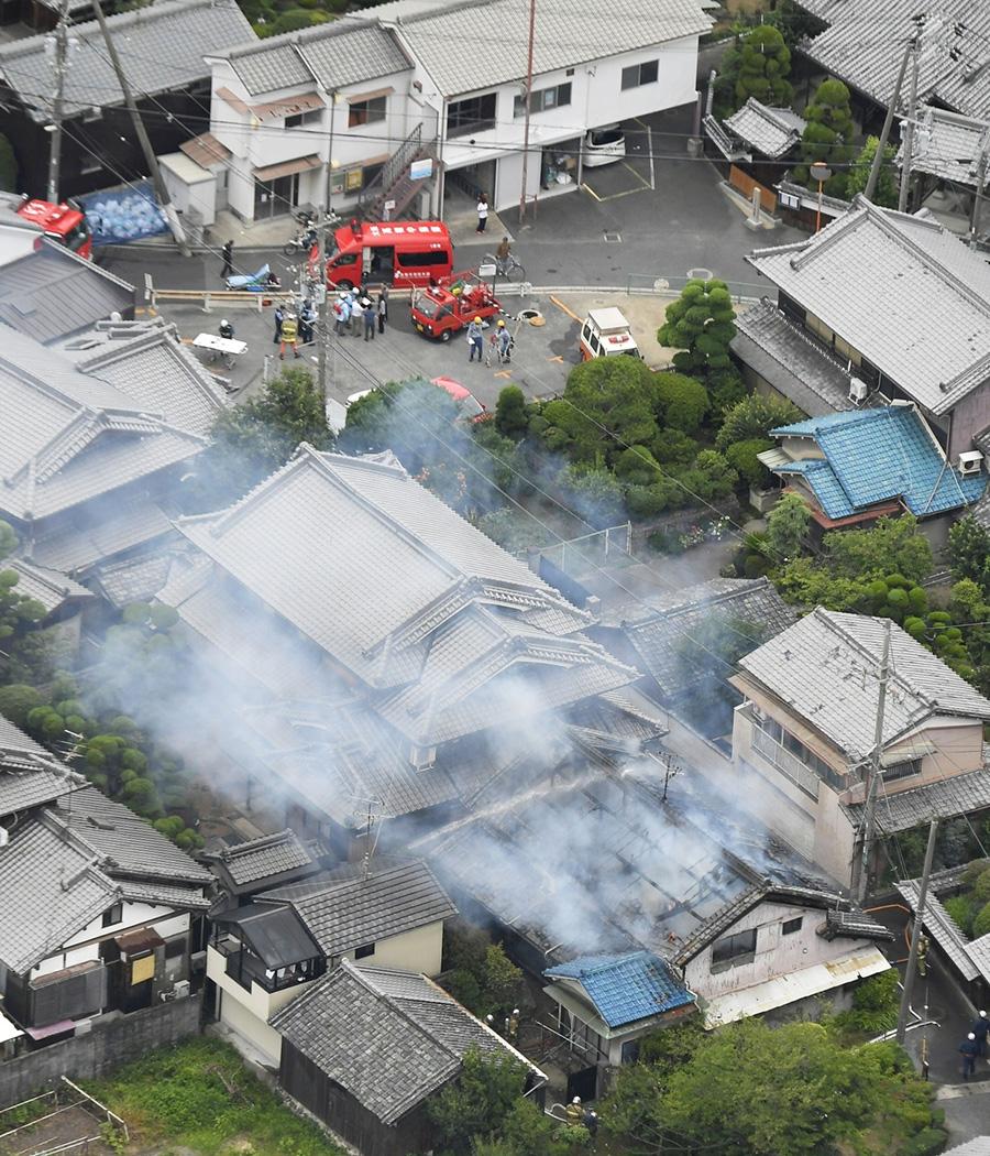 Мощность землетрясения составила порядка 6,1. Оно не привело к масштабным разрушениям, однако отдельные постройки все же не устояли.