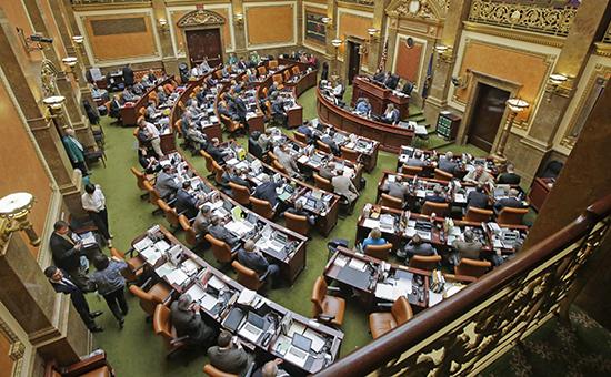 Палата представителей приняла нежелательный для Обамы проект бюджета