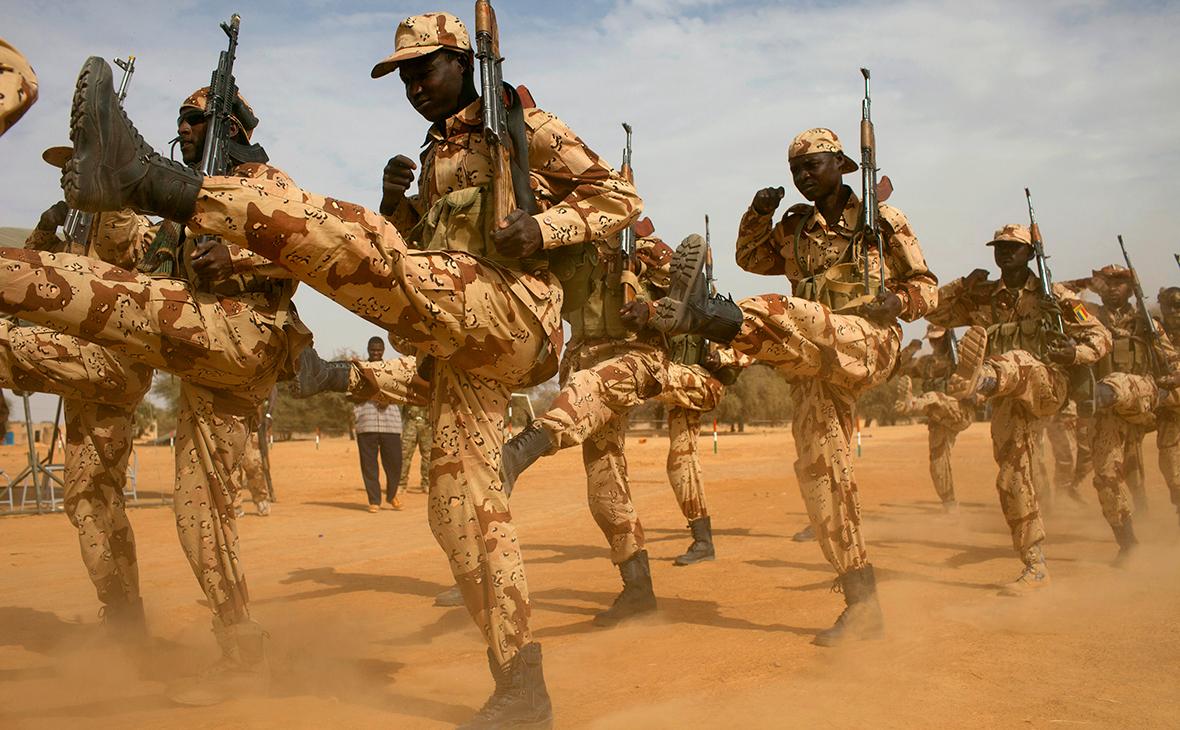 Обучение военных вЦентральноафриканской Республике