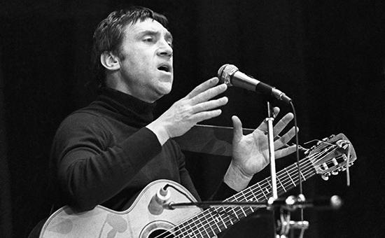 Поэт Владимир Высоцкий, 1979 год