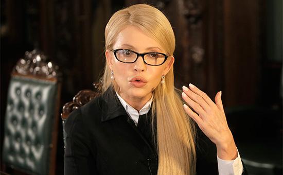Тимошенко рассказала о договоренности по передаче Савченко Украине