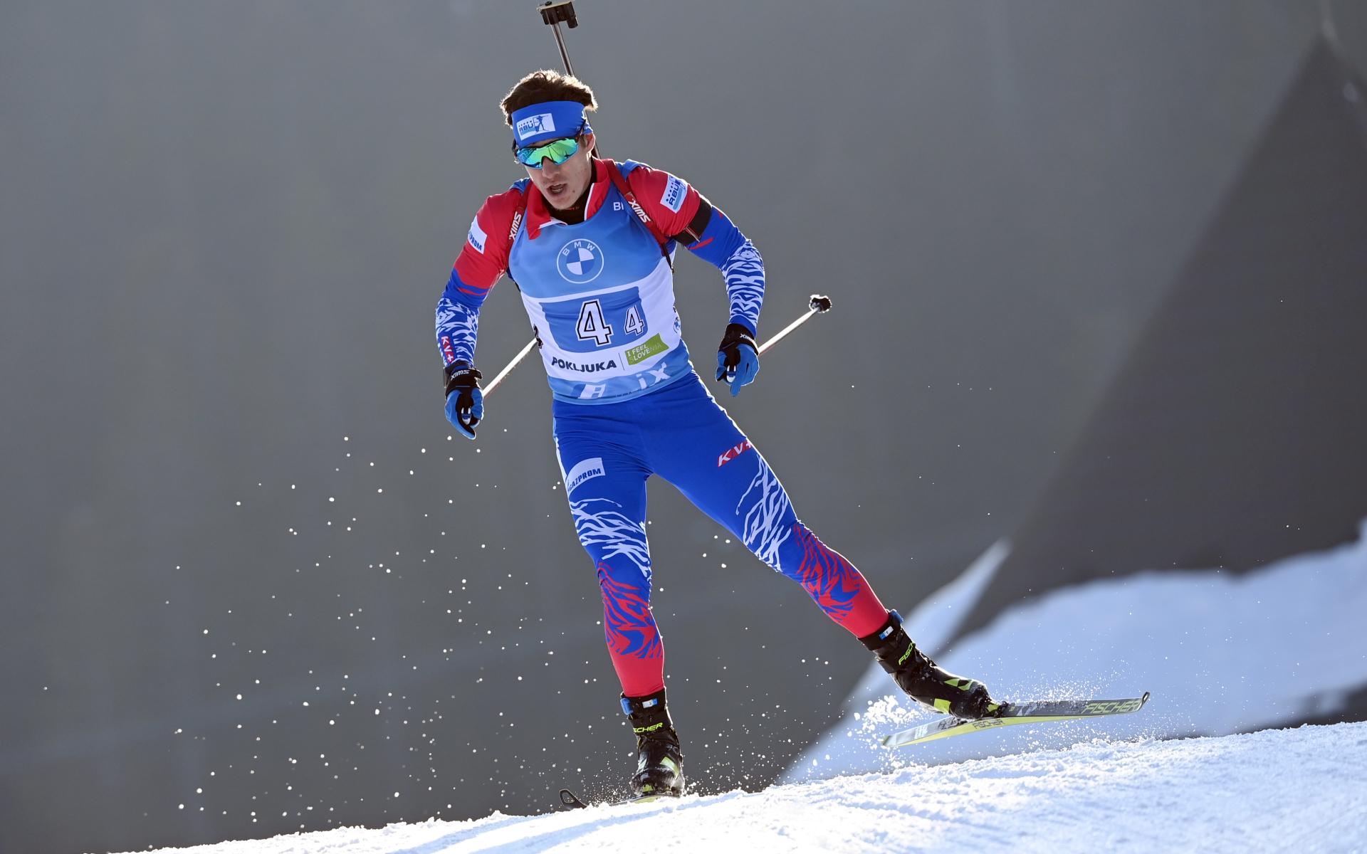 На последнем этапе эстафеты за сборную России выступал Эдуард Латыпов