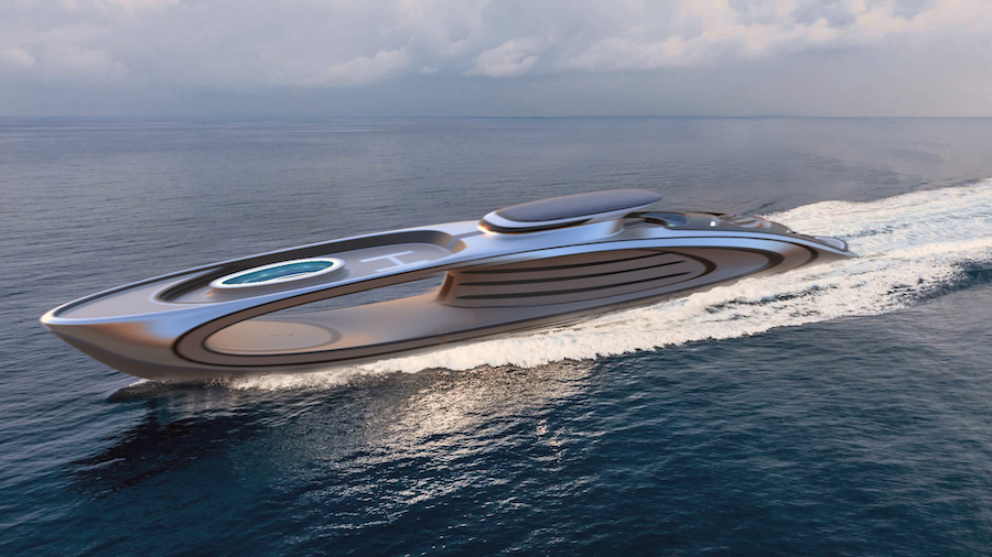 Многопалубный дизайн предлагает путешественникам много личного пространства, которого зачастую так не хватает на обычных яхтах.