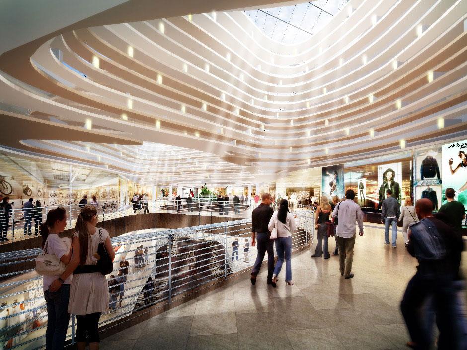 Внутри торгового центра «Vegas Кунцево»