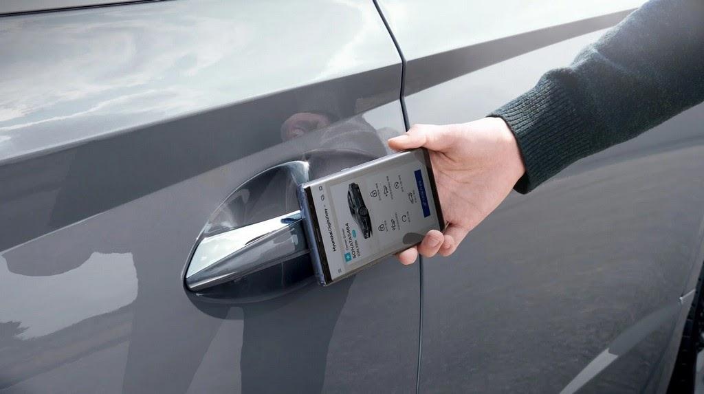 NFC-ключ для авто