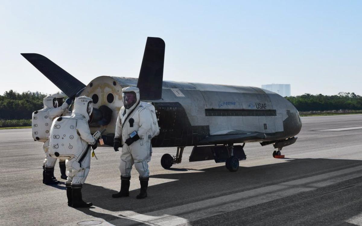 Орбитальный испытательный корабль X-37B