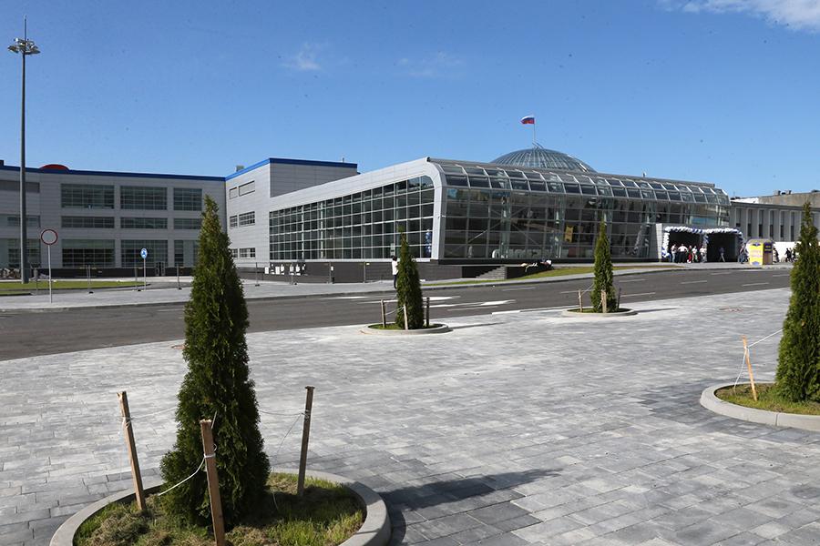 Аэропорт в июле 2017 года