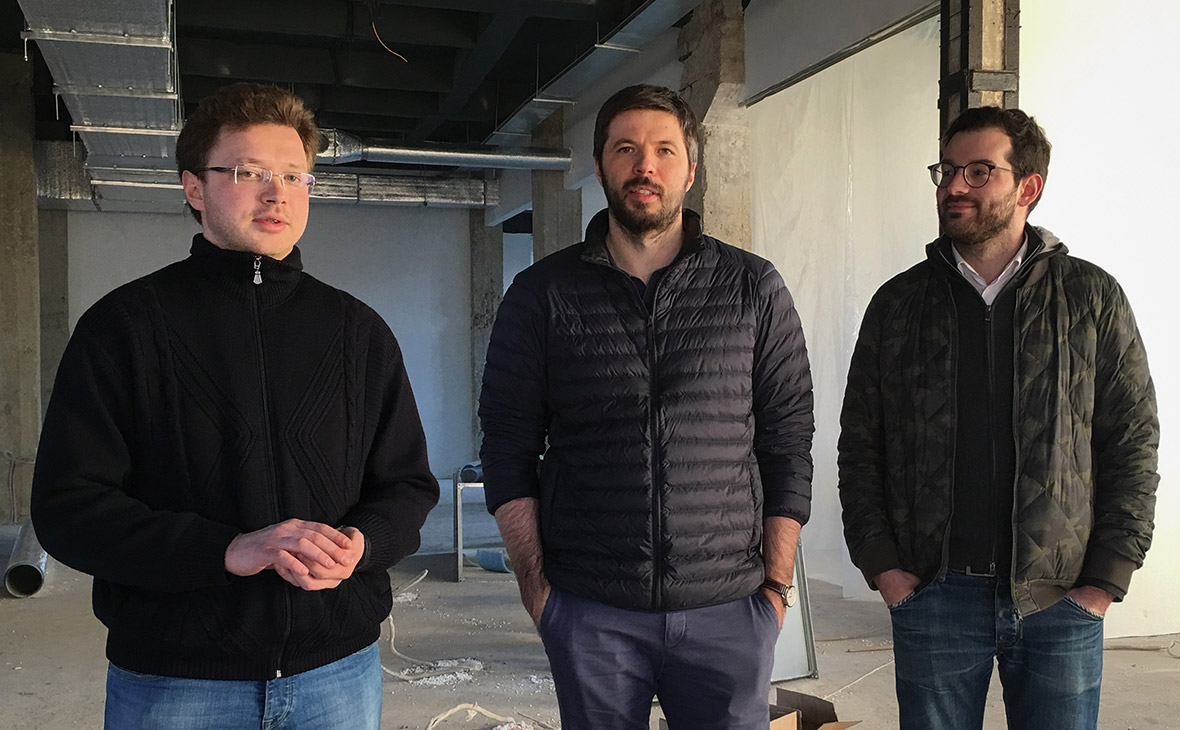 Иван Наумов, Владимир Масляков, Павел Федоров (cлева направо)