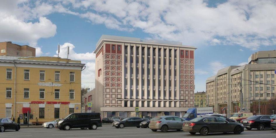 Проект гостиницы наЗубовской площади
