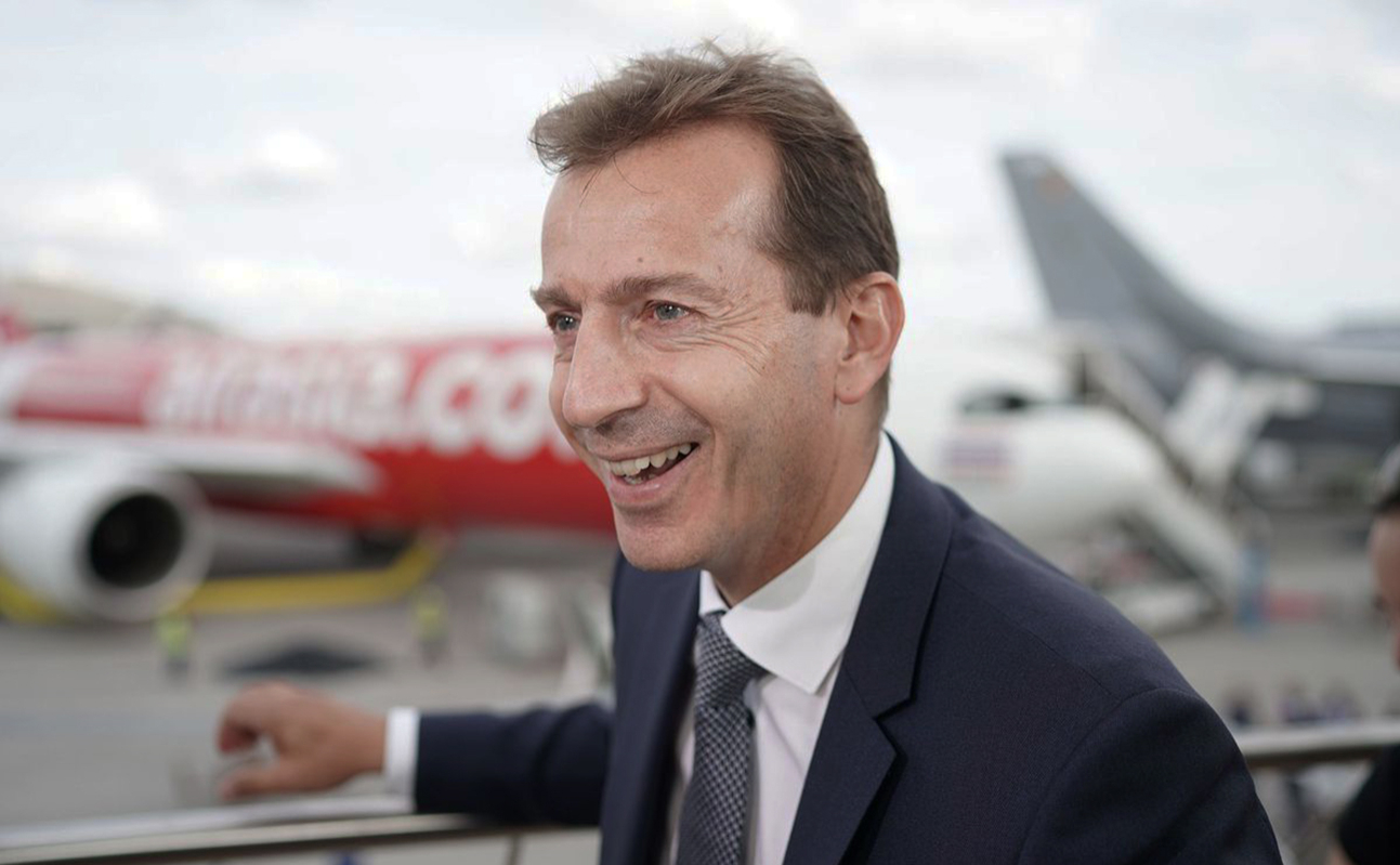 Исполнительный директор Airbus Гийом Фори